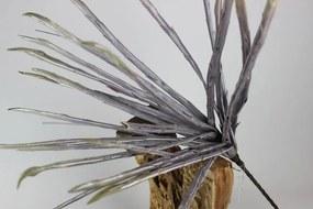 Fialová umelá sansevieria 82cm