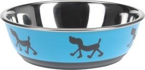 Miska pre psa Doggie treat modrá, pr. 17,5 cm