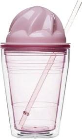 Pohár SAGAFORM Sweet Milkshake, ružový 5017173
