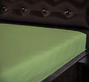 Jersey napínacia plachta Zelená 29 Rozmer: 60 x 120 cm