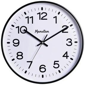 Quartz nástenné hodiny Manutan