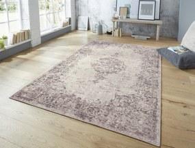 ELLE Decor koberce Kusový koberec Pleasure 103591 Pink/Black z kolekce Elle - 80x150 cm