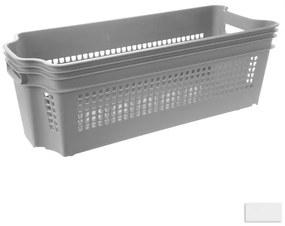 Orion domácí potřeby Košík STACK stohovat. kolečka 49,5x19x18 cm