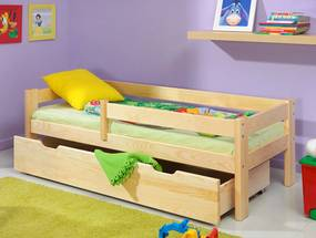 Detská posteľ Ourbaby Paul prírodná 160x70 cm