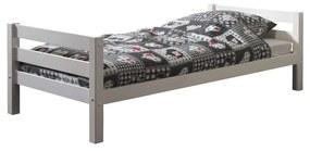 Biela detská posteľ Vipack Pino, 90 × 200 cm