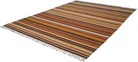 Obsession koberce Ručně tkaný kusový koberec KILIM 781 BROWN - 160x230 cm