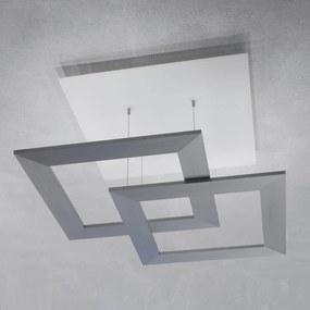 Escale Zen - stropné LED svetlo 80 cm, hliník