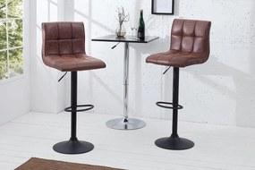 Barová stolička Modern vintage hnedá