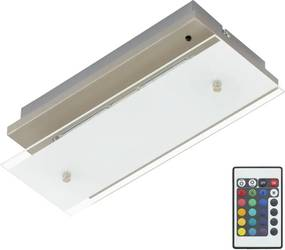 Briloner Briloner 3696-022 - LED Stropné svietidlo s ovládačom DRIVER 2xLED/3,6W/230V BL0213