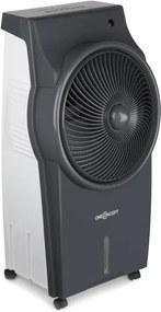 OneConcept Kingcool chladič vzduchu klimatický prístroj ventilátor ionizátor sivá