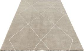 ELLE Decor koberce Kusový koberec Glow 103664 Beige/Cream z kolekce Elle - 80x150 cm