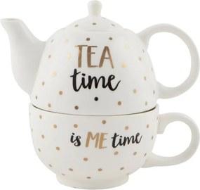 Kanvička s hrnčekom Sass & Belle Tea Time