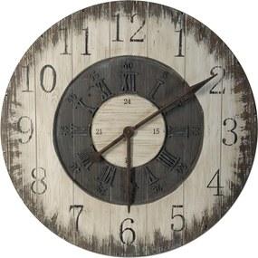Nástenné hodiny Antic Line Numbers, ⌀ 80 cm