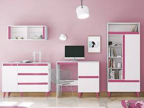 SB Detská izba TIP 3 - ružová