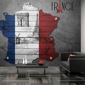 Fototapeta - Francúzsko (symboly) 200x154 + zadarmo lepidlo