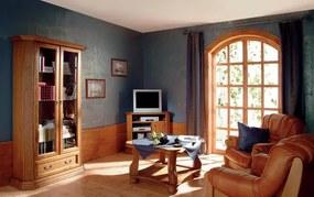 PYKA Monika 2 rustikálna obývacia izba drevo D3