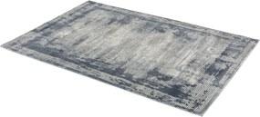 Schöner Wohnen-Kollektion - Golze koberce Kusový koberec Brilliance 181020 Stripes Blue - 80x150 cm