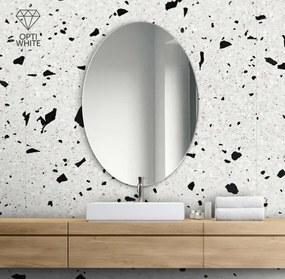 Zrkadlo Oval Opti white z-merlin-opti-white-1893 zrcadla
