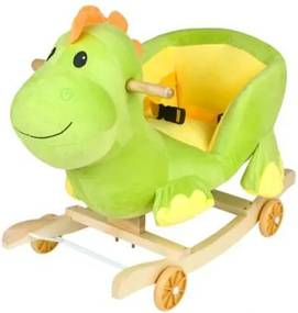 DR Detská hojdačka s kolieskami - dinosaurus