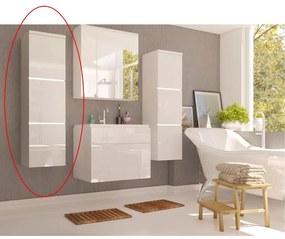 TEMPO KONDELA Mason WH 11 kúpeľňová skrinka na stenu biela