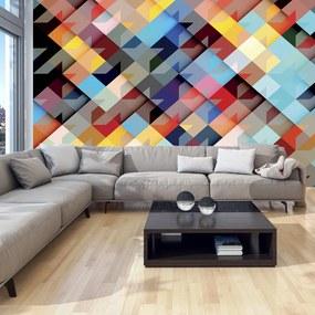 Fototapeta Bimago - Colour Patchwork + lepidlo zadarmo 150x105 cm