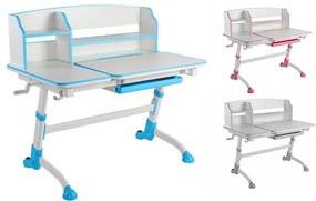 FD Rastúci písací stôl pre deti Amorte II - viac farieb Farba: Ružová
