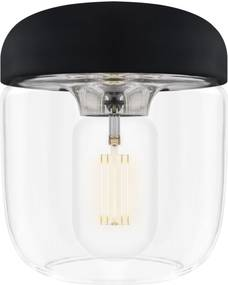 ACORN BLACK | dizajnová visiaca lampa Farba: Leštená oceľ, Sada: Iba tienidlo