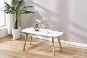 SAFIRA konferenčný stolík, biela