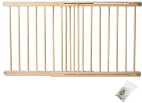 8257 Drevená zábrana na dvere a schody