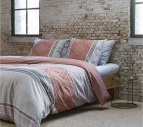 DomTextilu Vzorované posteľné návliečky SUBURBIA MULTI 200 x 220 cm 18165