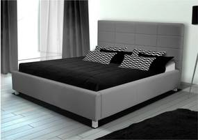posteľ ĽUBICA IX bez roštu a úložného priestoru 180x200 cm