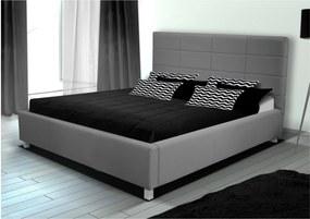 posteľ ĽUBICA IX s roštom a úložným priestorom 180x200 cm