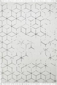 Obsession koberce Ručně tkaný kusový koberec Stockholm 342 GREY - 200x290 cm