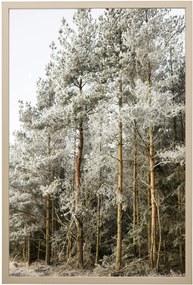 Bloomingville Obraz v ráme Frozen Beauty