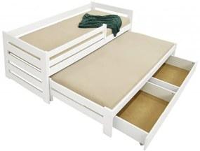 FA Detská posteľ s prístelkou Veronika 7 90x200 Farba: Biela