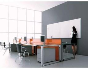 Bi-Office Bezrámová magnetická popisovacia tabuľa, 1150 x 750 mm