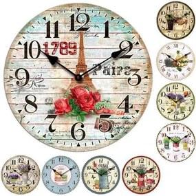 TORO Nástenné hodiny, okrúhle, rôzne motívy