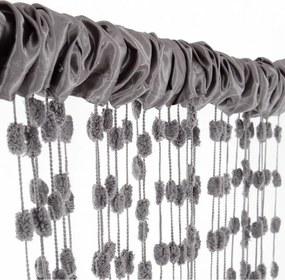 Tutumi Závěs do dětského pokoje BABY BALL 250 x 240 cm - Tmavě šedý