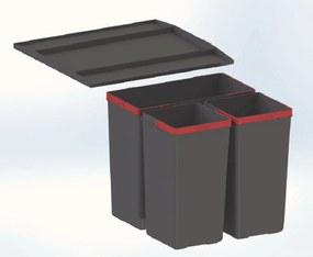 Franke Easysort 450-2-1 (1x14,5 l, 2x 7,5 l), odpadkový kôš 121.0494.150