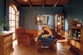 PYKA Monika 1 rustikálna obývacia izba drevo D3