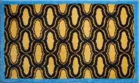Grund Koupelnová předložka RETRO, žltá, 60 x 100 cm