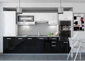 Moderná sektorová kuchyňa Syka 300 cm