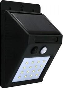Polux LED Solárne nástenné svietidlo so senzorom LED/2,2W SA0731