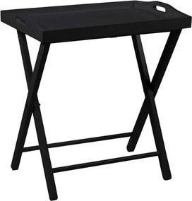 Servírovací stolek Vesna, černá SCHDN0000066928S SCANDI+