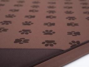 Hobbydog Matrac LIght svetlohnedá labky ,rôzne rozmery M 80x54 cm