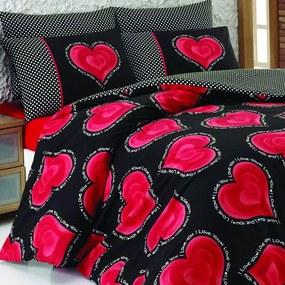 Obliečky s plachtou na dvojlôžko Buena, 200×220cm