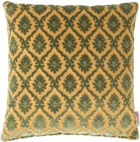 Zelený vankúš Dutchbone Ottava, 45 × 45 cm