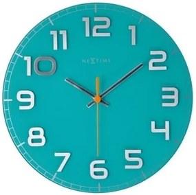 Nextime Classy round  8817tq nástenné hodiny,