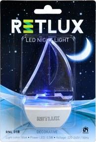 Retlux RNL 01B LED 0,5W nočné svetlo LOĎ