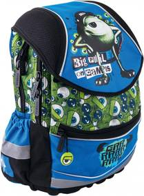 fe663d5ba91 BAAGL Školský batoh ergonomický - Príšerky Boys - veľký